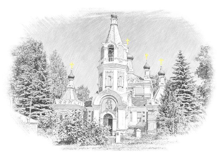 Никольский храм, г.Солнечногорск